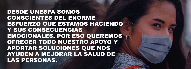 APOYO <br /> PSICOLÓGICO <br /> A LOS <br /> SANITARIOS